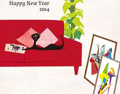 "Check out new work on my @Behance portfolio: ""New Year's card-2014"" http://on.be.net/1Dp4OpI"
