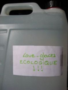 Lave-glace écologique - Kalawangue Alcohol Vinegar, Limpieza Natural, Windshield Washer, Tips & Tricks, Green Life, Car Wash, Clean House, Cleaning Hacks, Vodka