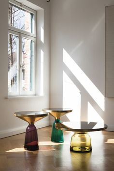 Love these table bases!  classicon_bell table herkner
