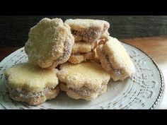 Μπισκότα βουτύρου με καραμέλα (Alfajores) | Foodouki - YouTube