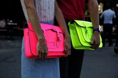 Neon bags, great for school, work and just chillin out!