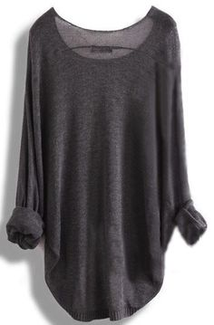 Long sleeve knit shirt tunic . . . love this look with leggings and boots ♥
