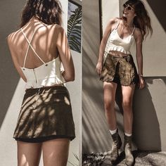 Get this look: http://lb.nu/look/7961586  More looks by Elle-May Leckenby: http://lb.nu/ellemay  Items in this look:  Isla Crop, Sonny & Cher Gold Rim Shades   #bohemian #casual #chic