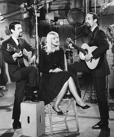Peter Paul and Mary - LOVED them and all of their songs - adored folk music! (please follow minkshmink on pinterest)