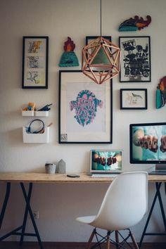IKEA Lampe & Kupferrohr
