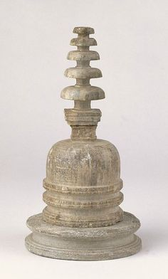 Votive stupa with base 1st century