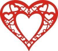 Cheery Lynn Designs Heart within my Heart Die:
