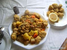 Original Cocido con pelotas murciano Spanish Stew, Spanish Food, Murcia, Coco, Good Food, Beans, Chicken, Ethnic Recipes, Alicante