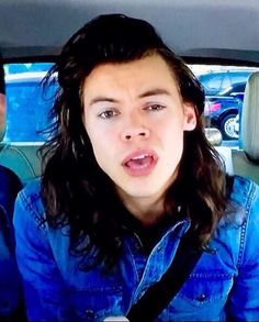 Seriously though, was Harry trying to be the most attractive he has ever been in carpool karaoke???