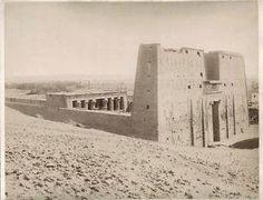 Templo de Edfu 1870