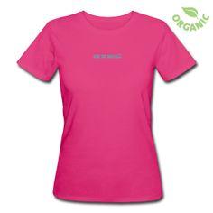 Frauen Bio-T-Shirt - T-Shirt aus ökologischer Herstellung, für Frauen, 100% Baumwolle, Marke: Continental.  Das Axel®Shirt für die Ladies Axilla. Ein schlank geschnittenes T-Shirt, Organic und in Pink mit Silberfarbenem Label. Einfach Axel®.