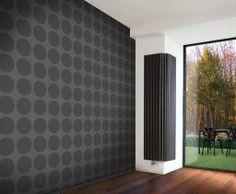 design radiator_verticale design radiator_jaga_iguana angula plus Decorative Radiators, Radiator Heater, Vertical Radiators, Designer Radiator, Living Room Color Schemes, Room Colors, Colours, Wall Treatments, Bathroom Interior