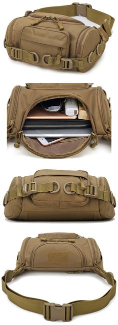 32d936041325 Nylon Outdoor Waterproof Tactical Sling Bag Chest Bag Waist Bag Crossbody  Bag is hot-sale