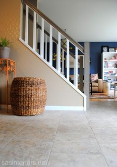 Awesome tutorial on how to lay a tile floor in one day!