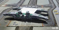 ArtStation - Space Ships Design 03, Yohann Schepacz
