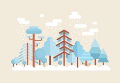 How to Create a Flat Winter Scene in Adobe Illustrator Design Envato Tuts Design & Illustration
