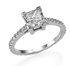 Solitaire ring from #superbdiamonds