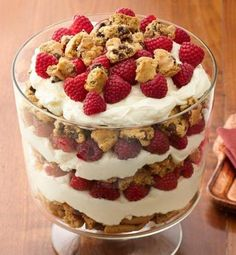 Wow your guests with this crowd-pleasing do-ahead dessert.