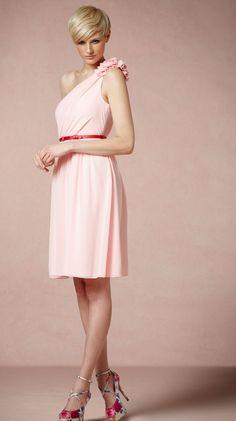 Pretty pixie cut in pink.