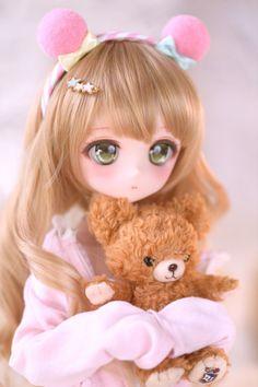 Kawaii Doll, Kawaii Anime Girl, Anime Art Girl, Beautiful Barbie Dolls, Pretty Dolls, Cute Girl Drawing, Cute Drawings, Cute Baby Dolls, Anime Dolls