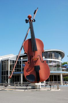 The Ceilidh Fiddle - Sydney, Cape Brenton, Nova Scotia,Canada Ottawa, Canada Eh, Cape Breton, Roadside Attractions, Wow Art, Prince Edward Island, New Brunswick, Newfoundland, Canada Travel