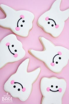 Tooth fairy cookies from Make Bake Celebrate