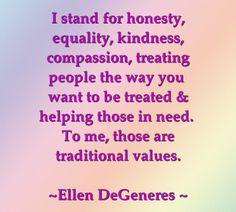 I Stand For Honesty (Yogi principle of Satya)