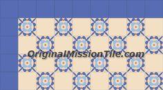 CATALINA 4X4Other classic designs- 4x4 (10x10 cm) / Original Mission Cement Tile & Encaustic Cement Tile