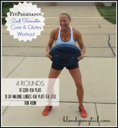 During this pregnancy, I intend to keep lifting heavy & incorporating CrossFit into my training. Hope you enjoy this second trimester CORE & GLUTES workout! Prenatal Workout, Pregnancy Workout, Butt Workout, Boxing Workout, Crossfit Pregnancy, Glute Workouts, Pregnancy Fitness, Fast Workouts, Pregnancy Labor