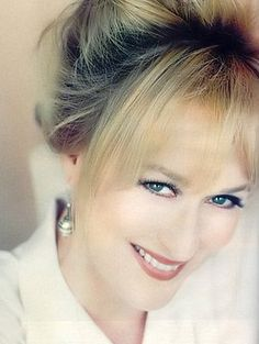 Meryl Streep is the world's most gorgeous model. But really...look at her.