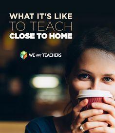 teaching close to home