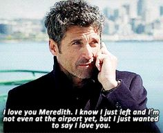 This is a list of moments in Derek and Meredith's love story from Shonda Rhimes' Grey's Anatomy on ABC. Greys Anatomy Derek, Grays Anatomy Tv, Say Love You, My Love, Meredith And Derek, Grey's Anatomy Tv Show, Derek Shepherd, One Night Stands, Love Your Life