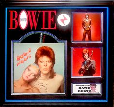 Antiquities LV - David Bowie Signed Album, $1,995.00…