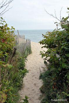 Sconset beach by Jan's Art, via Flickr