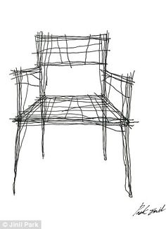 Which is a sketch and which is a real chair? Incredible furniture ...