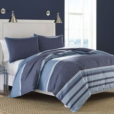 Shop for Nautica Broadwater Cotton Duvet Cover Set. Get free shipping at…