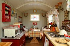 stardust-shepherds-hut Just for cooking and dining apparently - but super cute!