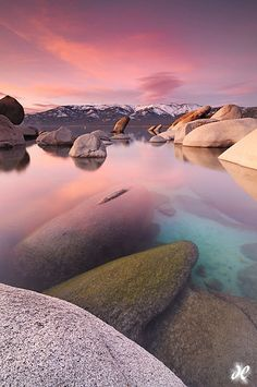 Sand Harbor State Park, Lake Tahoe, California, United States.