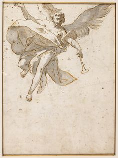"""GIOVANNI-BATTISTA TIEPOLO """"Angel Anunciación"""""""