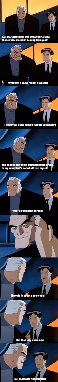 Far and away my favorite moment from Batman Beyond