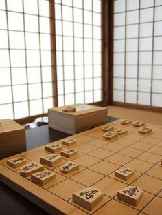 Shogi (Japanese chess) is a two player strategy board game in the same family as Western chess, chaturanga & xiangqi.