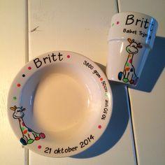 Servies voor Britt