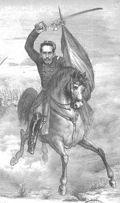 """Moisés Arce Montero (1853-1881). 1879 se enrola en el Batallón Atacama con el grado de Teniente. Pelea en la toma de Pisagua, Dolores donde se destacó por su heroísmo, asciende a Capitán y lucha en los Ángeles y en Tacna donde montado en su yegua moquehuana intentó arrebatar el estandarte de un regimiento boliviano siendo abatido. Fuente: """"El Álbum de la Gloria de Chile"""" de B. v. Mackenna  Pág.  165 a 172"""