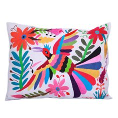 beautiful mexican handmade Danaá Otomi Pillow