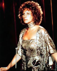 Barbra Streisand in 'A Star is Born', 1976.
