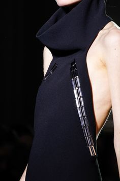 Anthony Vaccarello Fall 2013 RTW - Details - Fashion Week - Runway, Fashion Shows and Collections - Vogue