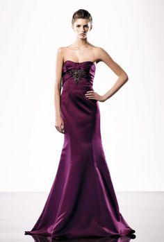 Mermaid Sweetheart Ruched Bodice Beaded Underbust Satin Evening Dress-soe0024, $178.95