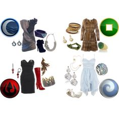 Avatar: the Last Airbender I would wear all of these outfits. My fav is the one designed after air