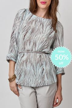 Blair Blouse-Seagrass now 50%off!