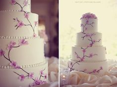 I like the detail of the flowers on this cake... not 100% sold on it though